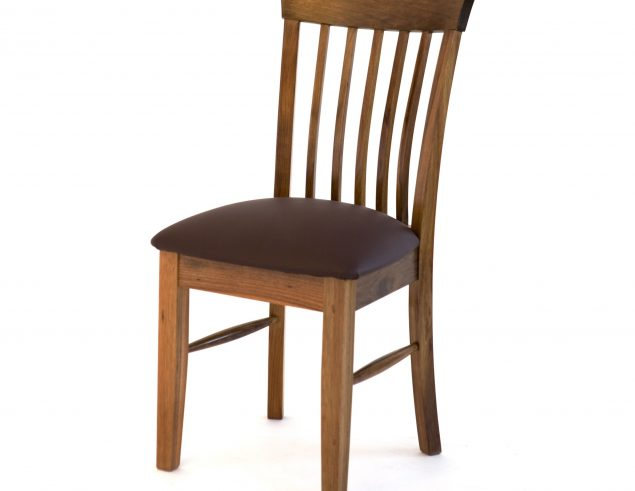 Tasmanian oak dining chair