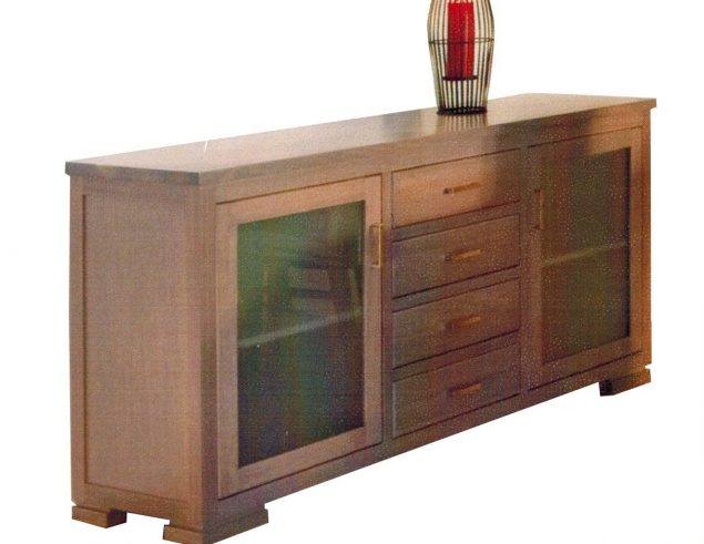 Tasmanian oak Buffet unit