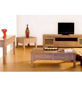 Tasmanian Oak timber living room furniture