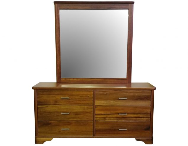 Blackwood dresser and mirror