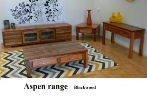 Blackwood timber living room furniture