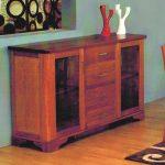 Solid timber buffet unit