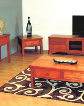 Solid timber living room furniture