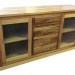 Messmate solid timber buffet unit