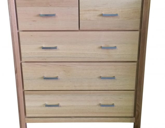 Solid timber tallboy